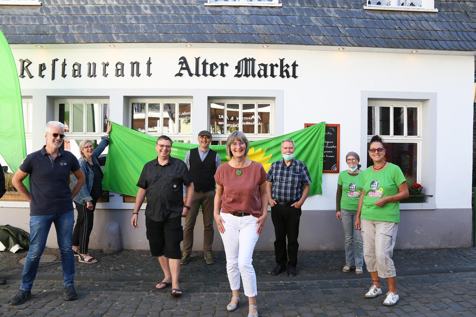 Wahlparty der Grünen in Monschau