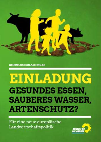 """""""Gesundes Essen, sauberes Wasser, Artenschutz?"""""""