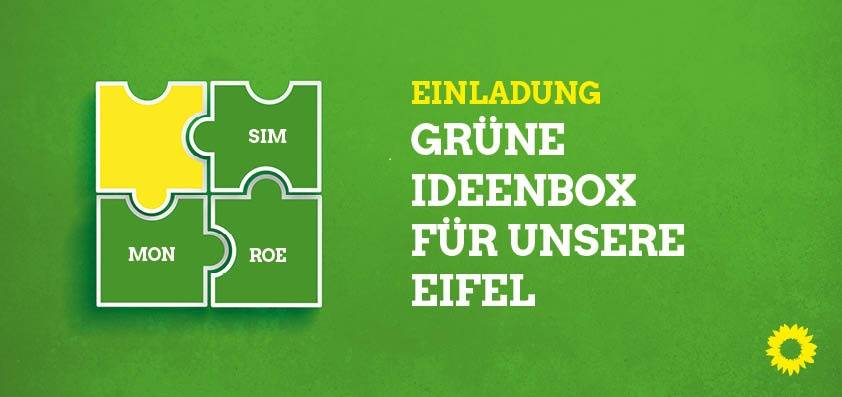 Grüne Ideenbox für unsere Eifel