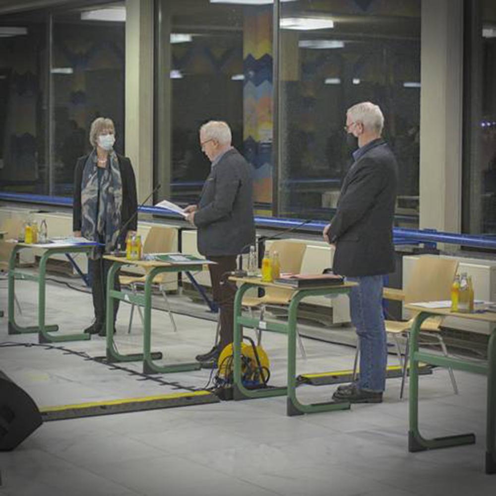 Silvia Mertens ist als Bürgermeisterin von Monschau vereidigt
