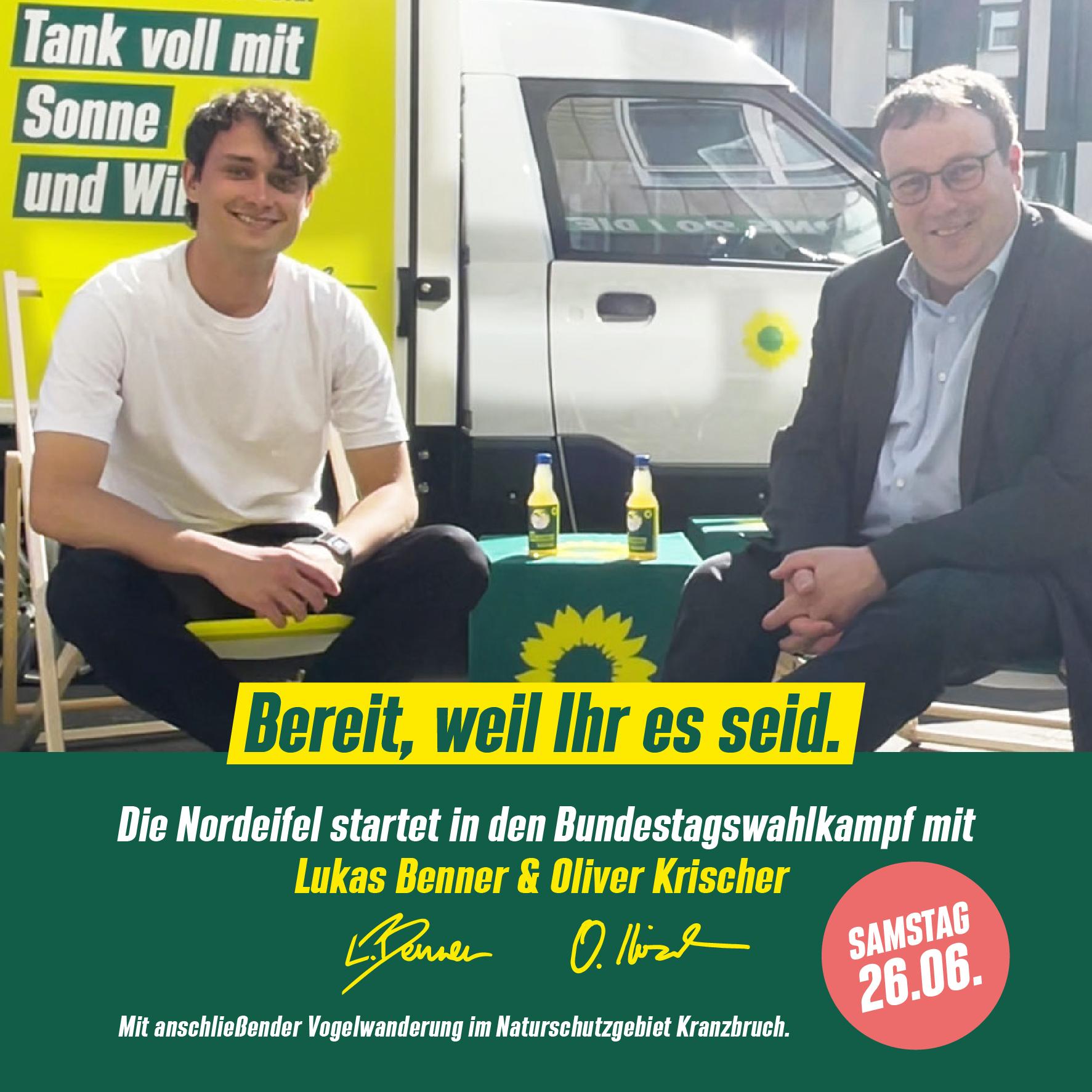 Die Nordeifel startet in den Bundestagswahlkampf
